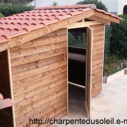 Création cabane Abris jardin